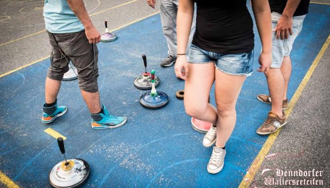 Es lebe der Sport! Die Wallerseeteifen beim ORTSVEREINE ASPHALTTURNIER…